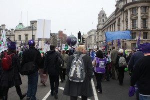 A photo of the march