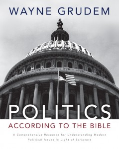 Cover of Politics According to the Bible