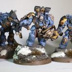 Warhammer 40k Space Wolves Figures